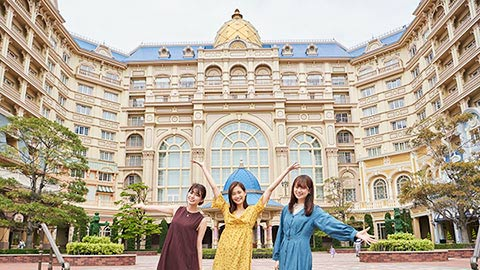 一度は泊まりたい!東京ディズニーランド(R)ホテルで女子会を満喫
