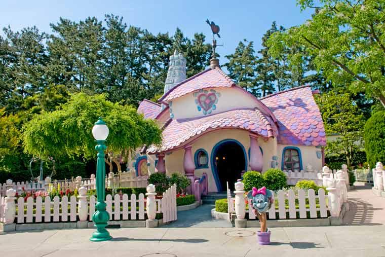 ミニーマウスの家