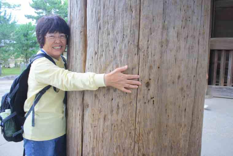 NPO法人なら・観光ボランティアガイドの会の湊好枝さん