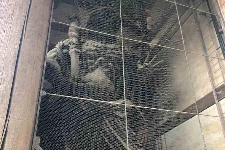 東大寺 金剛力士像 阿形像と吽形像