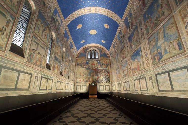 環境展示の一つ「スクロヴェーニ礼拝堂」
