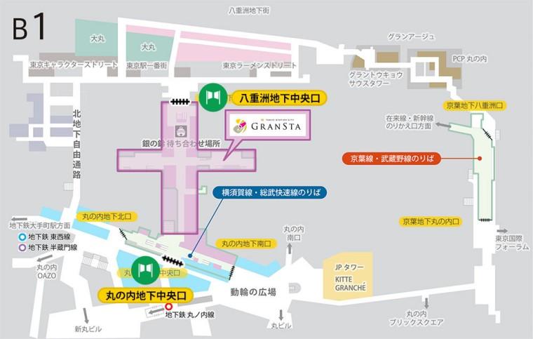 東京駅 駅弁 マップ