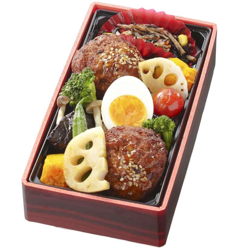 豆腐バーグの野菜たっぷり重