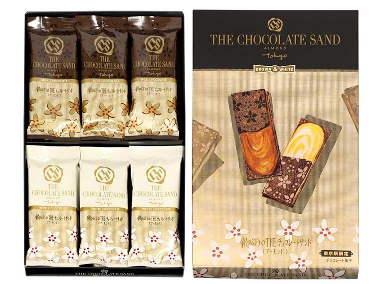 東京駅土産 THE チョコレートサンド TOKYO「銀のぶどうのTHEチョコレートサンド」