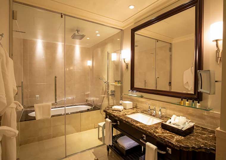東京ステーションホテル ドームサイド客室 バスルーム