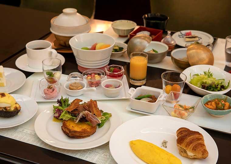 東京ステーションホテル アトリウム 朝食