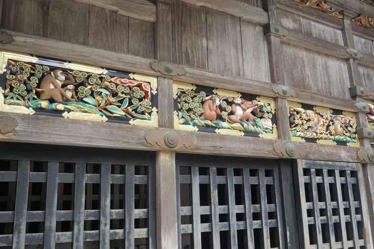 日光東照宮 神厩舎 「三猿」