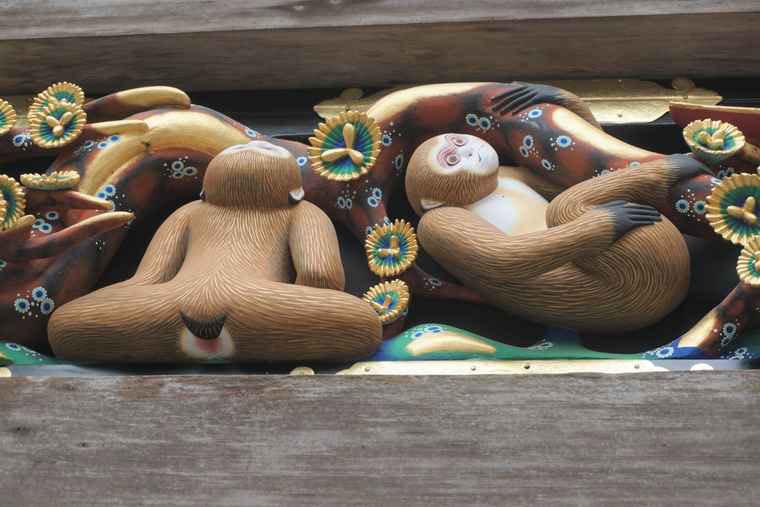 日光東照宮 「三猿」