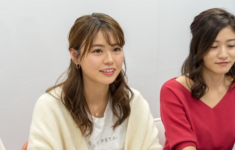 憧れホテル座談会、左から 井口綾子さん、大野南香さん