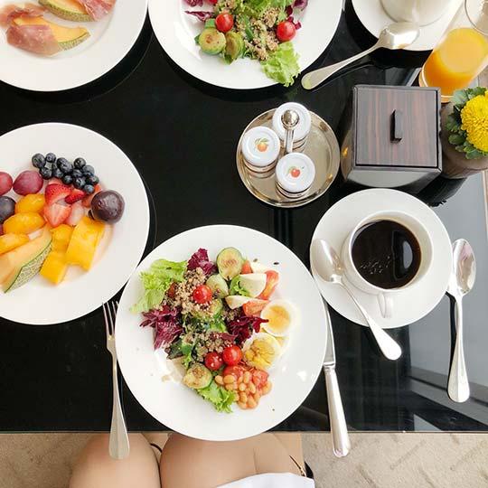 ハイアット リージェンシー 東京 朝食ブッフェ