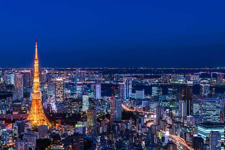 永遠の憧れは「夜景を一望」できるホテル 東京タワーの夜景