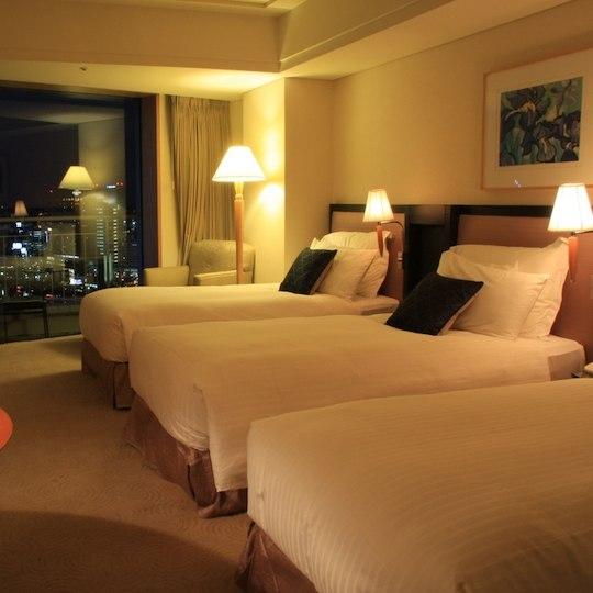 横浜ベイホテル東急  ビューバストリプル
