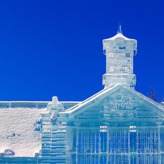 北海道 冬の雪まつり