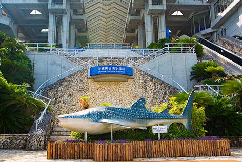 美ら海水族館正面玄関