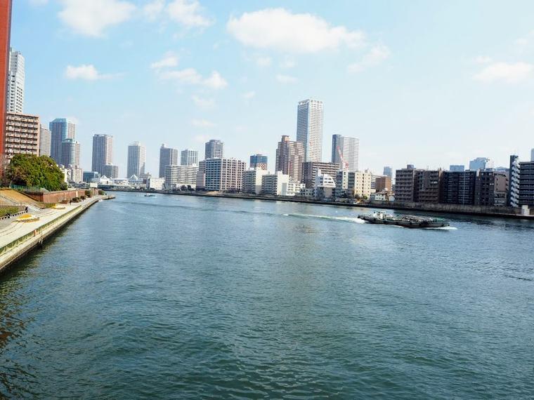 勝どき橋からの風景