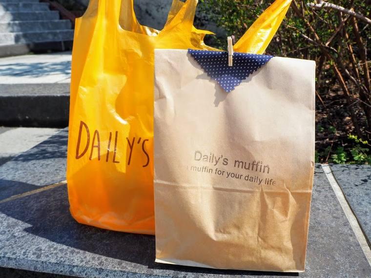 清澄通り沿い 『デイリーズ・マフィン月島店』
