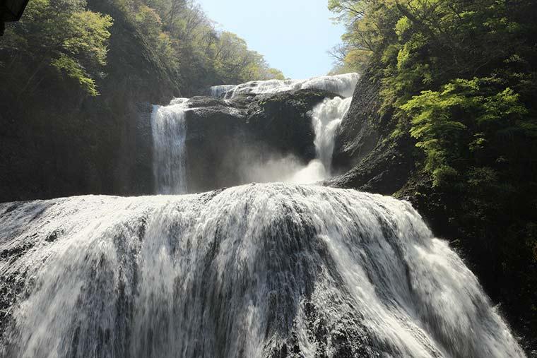 日本三名瀑 茨城県 袋田の滝