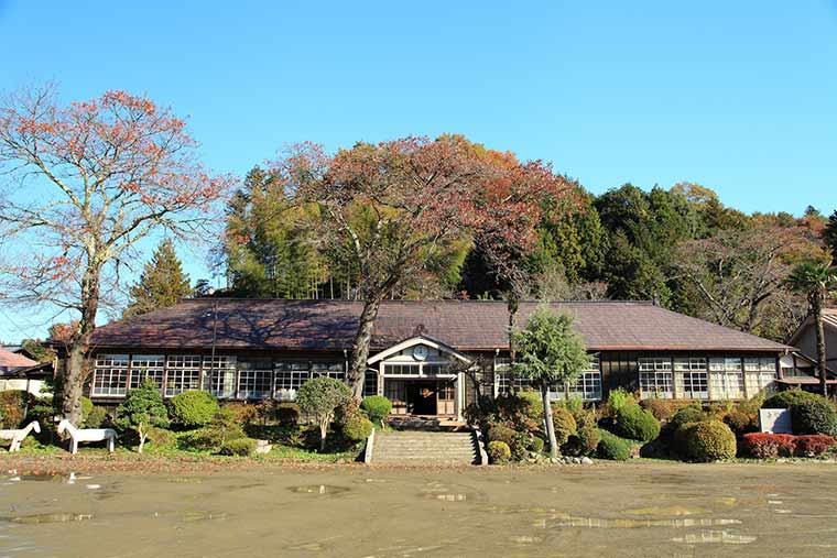 茨城県 旧上岡小学校