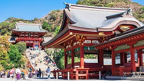 鎌倉・鶴岡八幡宮おすすめ参拝コース。境内の見どころやご利益も