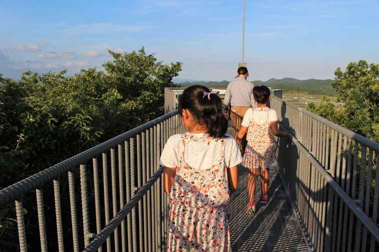 ツインリンクもてぎ 「樹冠タワー」ガイドツアー