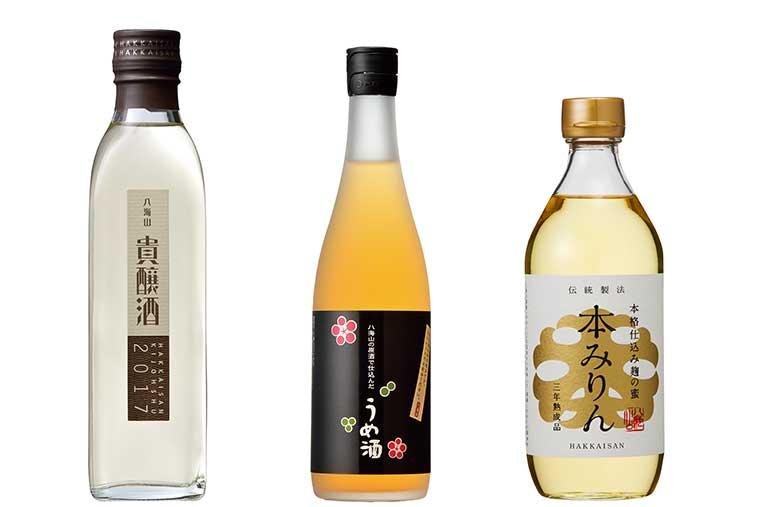 魚沼の里 八海山雪室 日本酒試飲カウンター