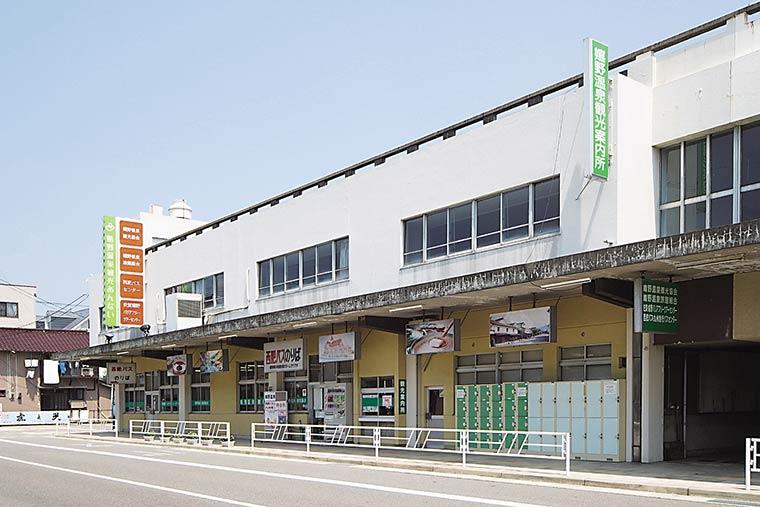 嬉野市のバスセンター