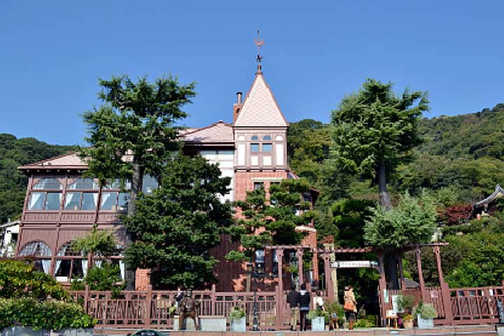 1904年に建造された風見鶏の館 Ⓒ一般財団法人神戸国際観光コンベンション協会