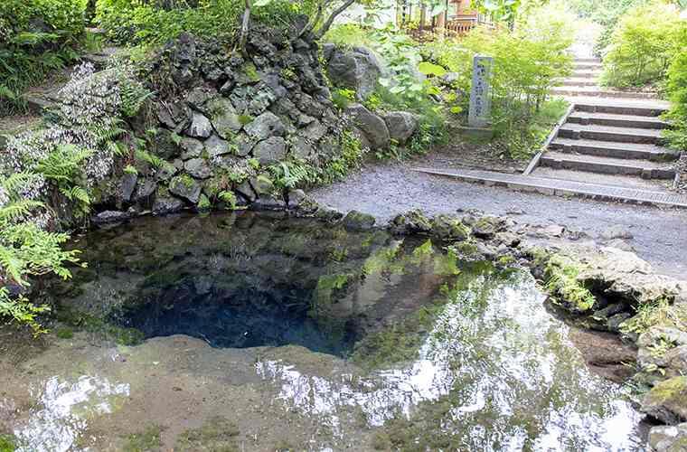 忍野八海 お釜池