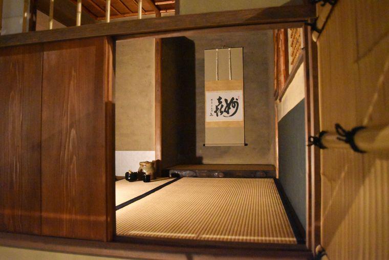 大山崎歴史資料館にある待庵の複製