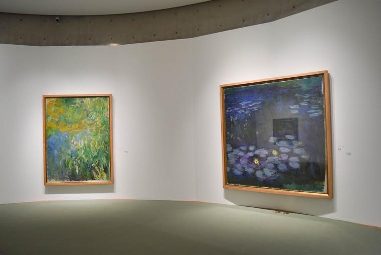 アサヒビール大山崎山荘美術館のクロード・モネ『睡蓮』常設展示