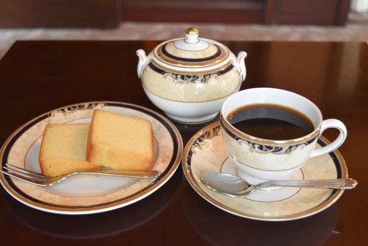アサヒビール大山崎山荘美術館のワインケーキ