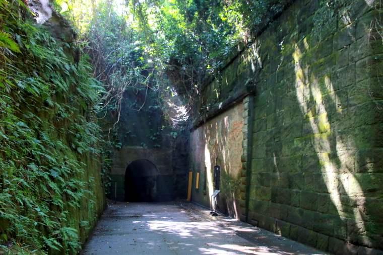 """トンネルを抜けた先は""""雰囲気がラピュタの世界みたい""""と話題の場所"""