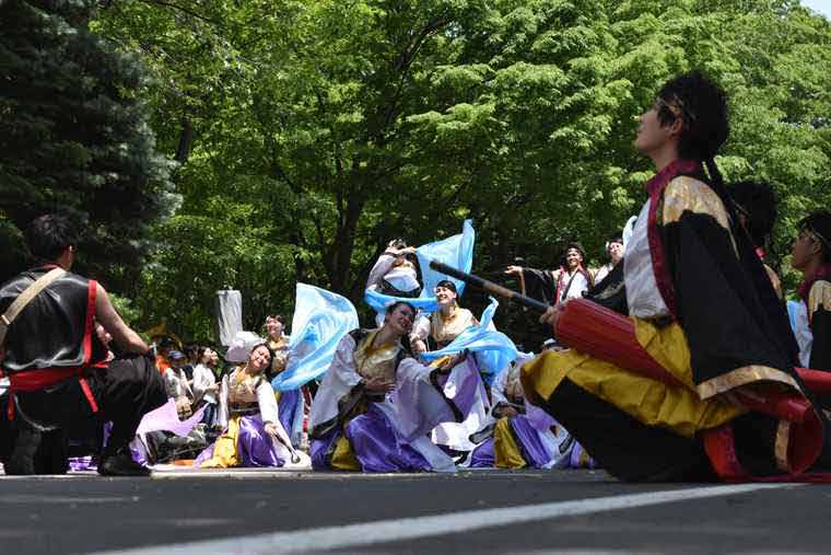 YOSAKOIソーラン祭り 大通南北パレード会場