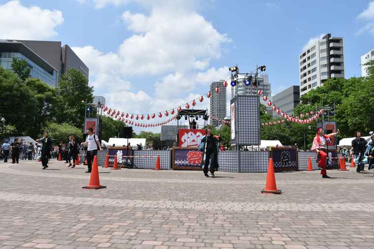 YOSAKOIソーラン祭り ワオドリスクエア