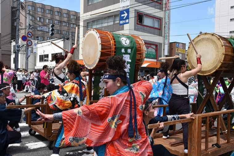 YOSAKOIソーラン祭り 平岸会場
