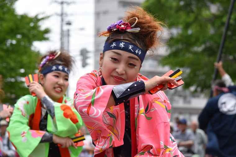 YOSAKOIソーラン祭り 平岸天神