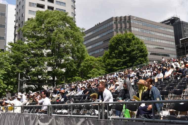 YOSAKOIソーラン祭り 大通西8丁目会場 特別観覧席