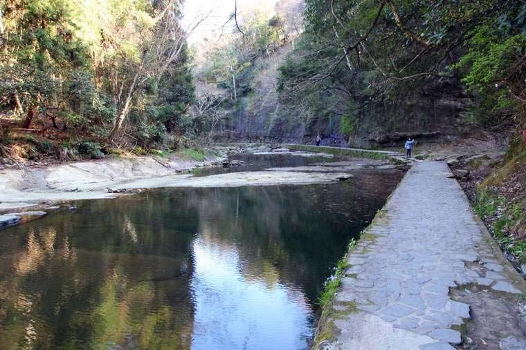 千葉養老渓谷 粟又の滝自然遊歩道