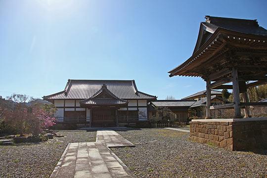 禅宗の古刹「水月寺」