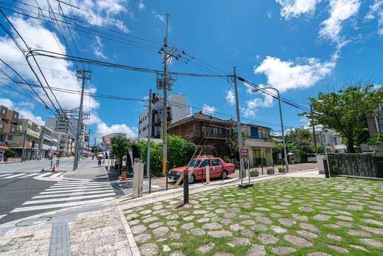 首里城周辺の街並み