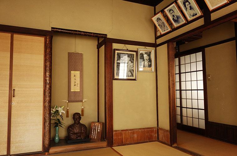 夏目漱石が通った頃の面影を伝える「坊っちゃんの間」