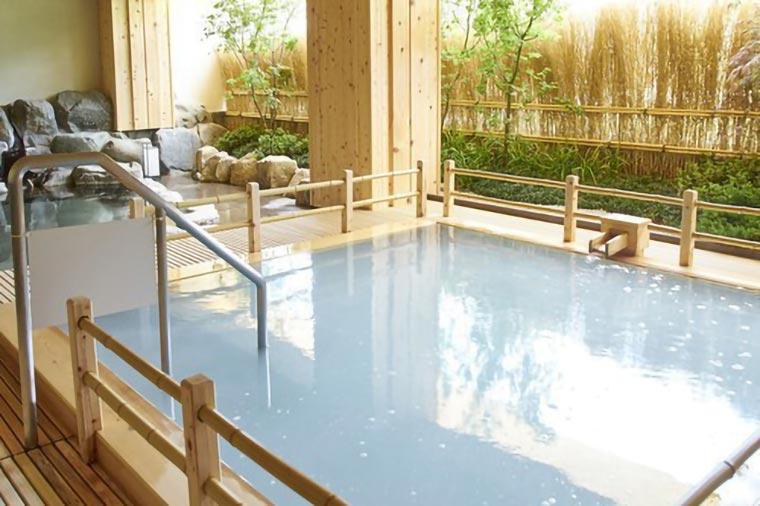 小川屋の露天風呂