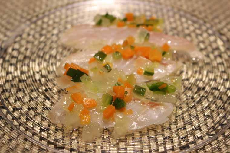 むらんごっつぉ 鮮魚の前菜