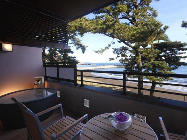 熱海温泉 味と湯の宿 ニューとみよし 露天風呂付き客室