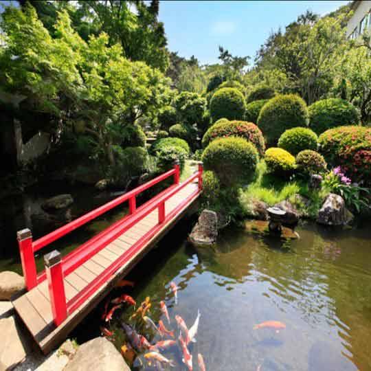 熱海温泉 源泉の宿ホテル松風苑 日本庭園