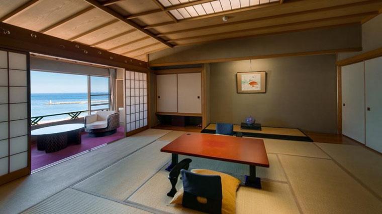 熱海温泉 源泉かけ流しの宿 ホテル貫一 客室例