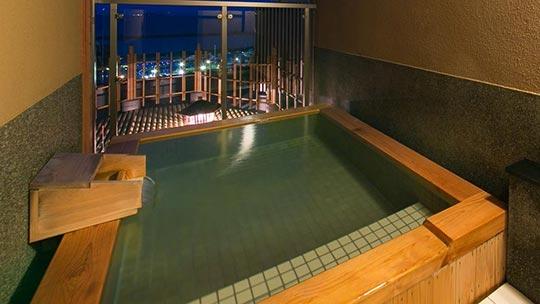 熱海温泉 源泉かけ流しの宿 ホテル貫一 貸切露天風呂