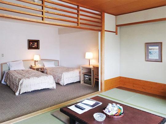 熱海温泉 熱海ニューフジヤホテル 客室例(和洋室)