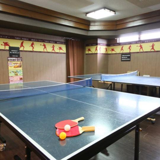 大江戸温泉物語 熱海温泉 あたみ 卓球コーナー(無料)