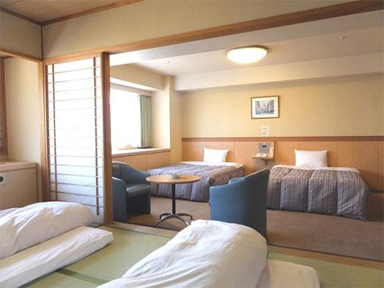 熱海温泉 伊東園ホテル熱海館 客室例(和洋室)